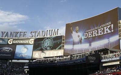 Retiran los Yanquis el número 2 de Derek Jeter