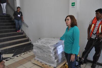 De acuerdo con María de los Ángeles Martínez, consejera del Instituto Electoral de Coahuila (IEC) inicialmente se solicitó el apoyo del Ejército Mexicano para el resguardo, se descartó porque no había un requerimiento de una alarma da seguridad nacional que pudiera impedir que la Policía Federal hiciera este servicio.