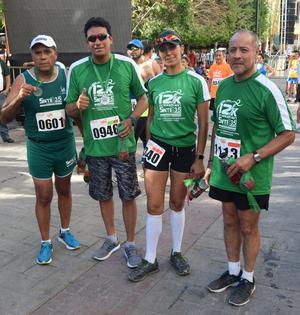 15052017 Jesús Sifuentes, Andrés Torres, Brenda Ríos y Gil Fernando Hernández.