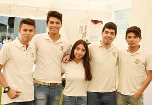 14052017 Karol, Sergio, Cristina, Jorge y Luis.
