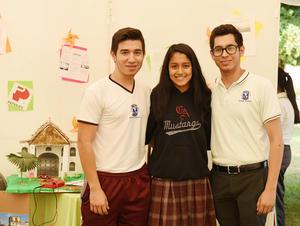 14052017 José Eduardo, Sofía y Mauricio.
