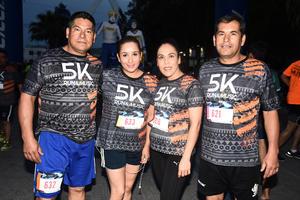 16052017 PARTICIPAN EN CARRERA.  Enrique, Nadia, Vero y Pedro.