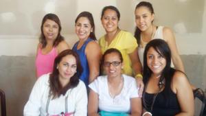 17052017 Miss Gilda, Miss Perla, Miss Sol, Miss Damiana, Miss Gaby, Miss Carmen y Miss Daniela.