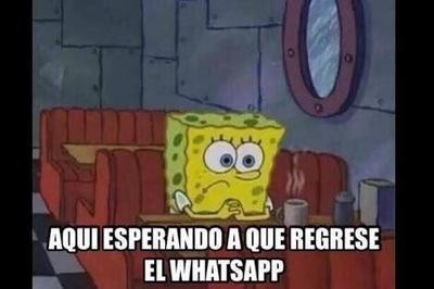 Caída de Whatsapp no se salva de los memes