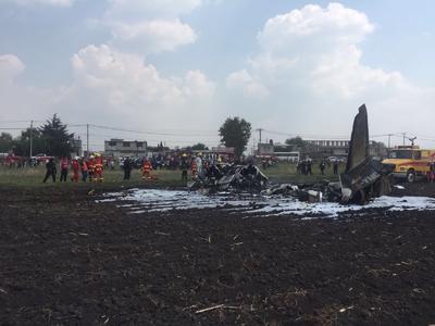 A bordo del avión se encontraban los tripulantes Enrique Gaona Arcos y José Octavio Anza Domínguez, quienes fallecieron en el accidente, contaban con licencias de piloto vigentes para operar este tipo de aeronave.