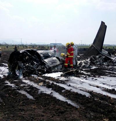 El incidente fue confirmado por las autoridades del propio aeropuerto.