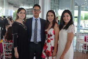 18052017 Paulina, Ricardo, Alessia y Fany.
