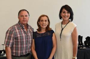 22052017 Agustín Lambarry, Martha Lambarry y Gaby Barraza.