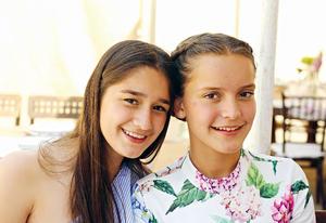 21052017 EN FESTEJO.  Luciana y Sofía.