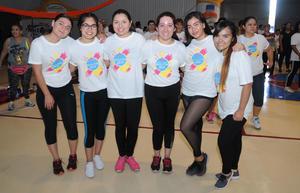 21052017 BAILATóN.  Meli, Itzel, Valeria, Fernanda, Tania y Karla.