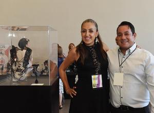 22052017 Brenda Meza y Luis Longoria.
