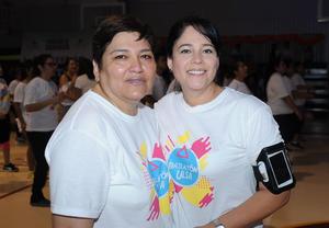 23052017 BAILATóN ULSA.  Leticia y Fabiola.