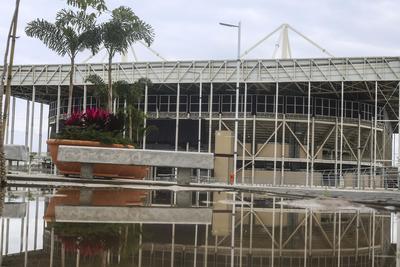 La mayoría de las sedes de Río 2016 se encuentran deterioradas.