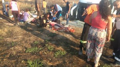 Ninguno de los 18 heridos está grave.