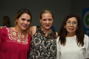 25052017 Viridiana García, Sonia Zapata y Luz Elva Frayre.