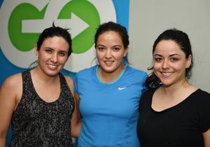 25052017 María José López, Mariana Estrada y Gina Rodríguez.