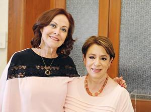25052017 EN EXPO.  Mely González con Maritza Cervantes.