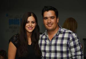 25052017 Marcela Marín y Luis Carlos de la Torre.