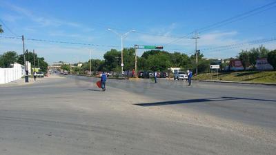Algunas calles se vieron afectadas por el desplazamiento de las autoridades, así como los cuerpos de rescate.