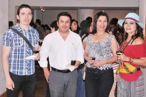 26052017 Esli, Esteba, Guadalupe y Laura.