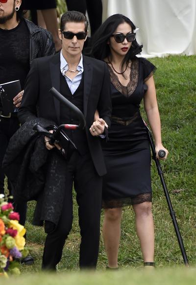 Perry Farrell y Etty Lau Farrell.