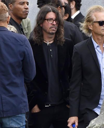 Dave Grohl de la agrupación Foo Fighters.