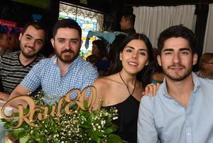 Alberto, Fernando, Alicia y Fernando