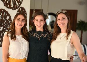 Andrea, Daniela y Melissa
