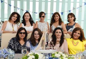 Gaby, Anelise, Gaby, Sharo, Rosy, Carmen, Martha, Paty y Adriana