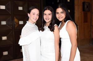 Paula, Isabel y Yazmín