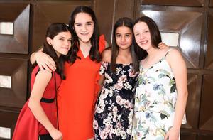 Paulina, Victoria, Cristy y Dany
