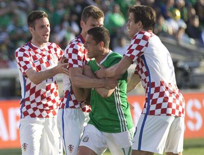 Aunque no utilizaron a sus mejores hombres, México y Croacia ofrecieron un partido entretenido que sirvió a ambos combinados para darle rodaje a algunos jugadores.