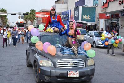 Celebaron décima edición de la marcha LGBTI y piden apoyo para candidatos del PRI.