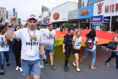 La marcha fue encabezada por Raymundo Valadez.
