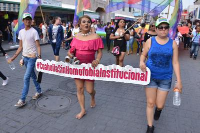 Marcharon por un estado sin homofobia.