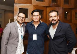 29052017 Miguel Cortez, Alfonso Peniche y Roger Peniche.