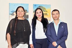 28052017 EN RECIENTE EVENTO.  Olga, Patricia y José.