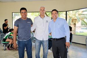 28052017 Luis Héctor Montañez, Wagner de Souza y José Guadalupe Rubio.