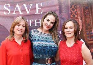 28052017 Pilar Revuelta, Mary Rojas e Isabel Nava.