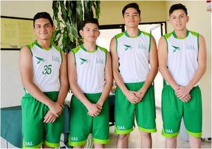 28052017 Luis Villegas, Alan Martínez, Carlos Martínez y Daniel Sánchez.