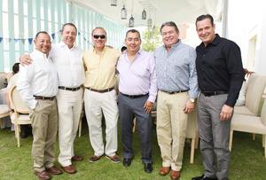 28052017 ENTRE AMIGOS.  Jaime, Mario, Edgar, Roberto, Bernardo y Yeyo.