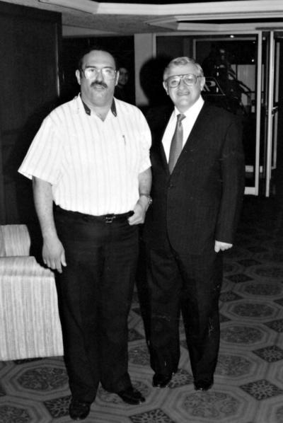 28052017 Lic. Jesús Reyes y Lic. Armando Fuentes Aguirre en 1977.