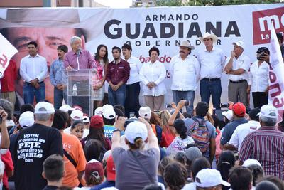 Cierra campaña Morena en Torreón
