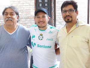 30052017 Rodolfo, Alfredo e Iván.