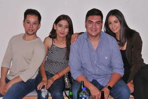 30052017 Ricardo, Cynthia, Edson y Daniela.