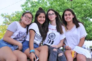 30052017 Ana, Paulina, Marifer y Ana Paula.