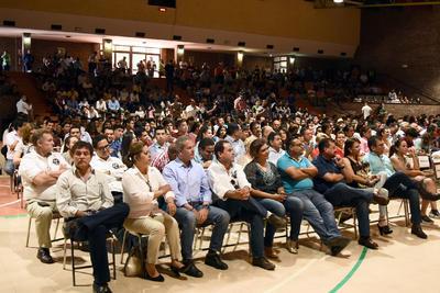 Hubo participación parte del cuerpo estudiantil de la Ibero.