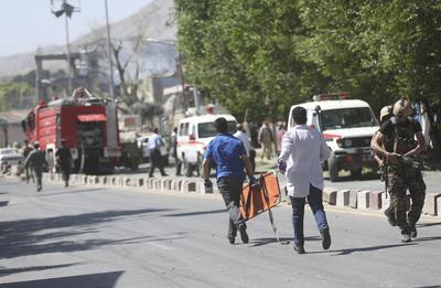En este momento, el Ejecutivo afgano apenas controla un 57% del país, según información de Washington.