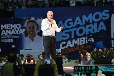 Jorge Zermeño busca la alcaldía de Torreón.