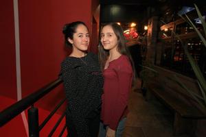Samantha Badillo y Emilia Acevedo.